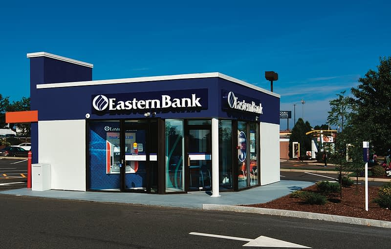 exterior of Eastern Bank